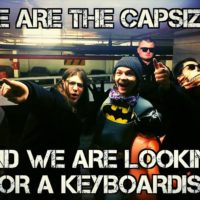 The Capsized is looking for keyboardist