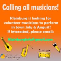 Musicians Wanted (Kleinburg - Vaughan)