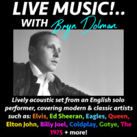 LIVE MUSIC SET - English Solo Performer Available for Gigs & Events!